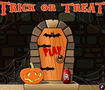 Trick or Treat instant game interactivity – Two