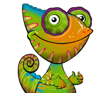 Cammie the Chameleon